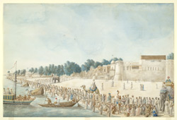 Chait festival, on the banks of the Ganges at Patna